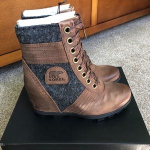 Sorel Lexie Boot Tobacco Leather